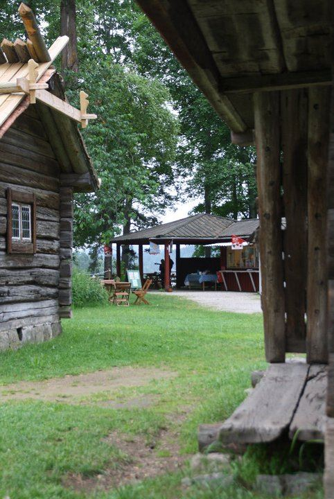 Café by the Open Air museum in Leksand