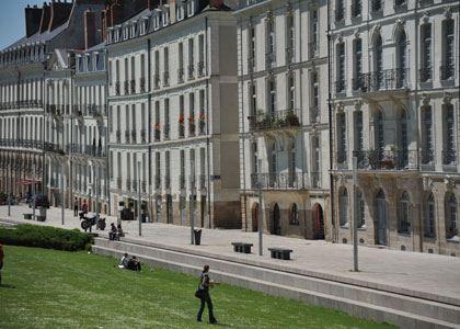 © lvan, ile Feydeau, quartier XVIIIe à Nantes