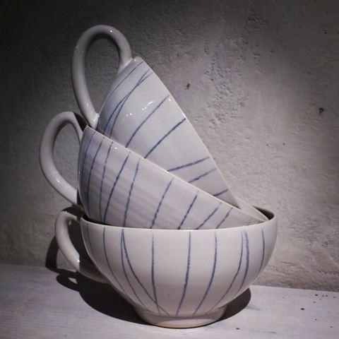 Lotta Zerrander, keramik
