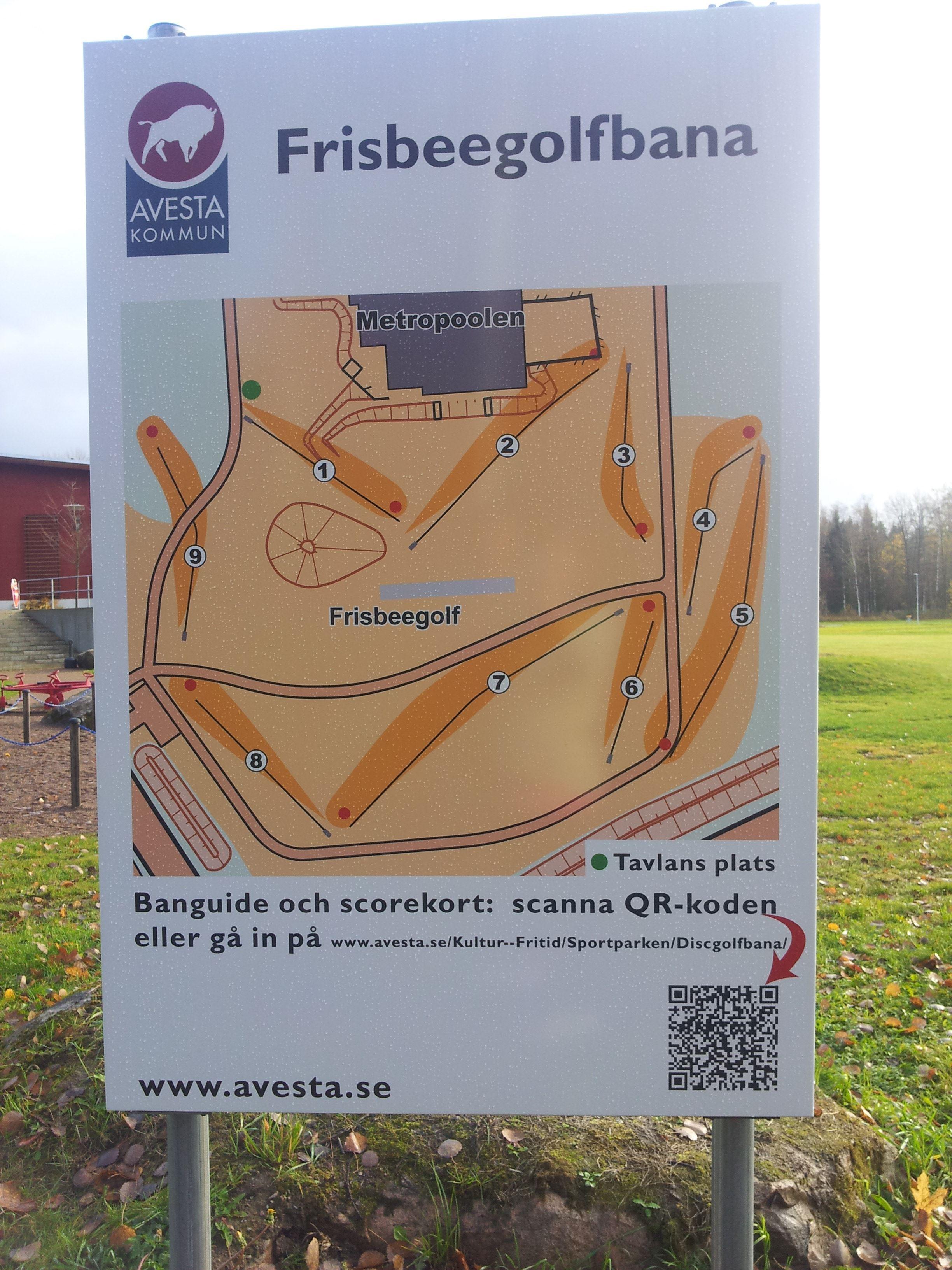Sportparken i Avesta