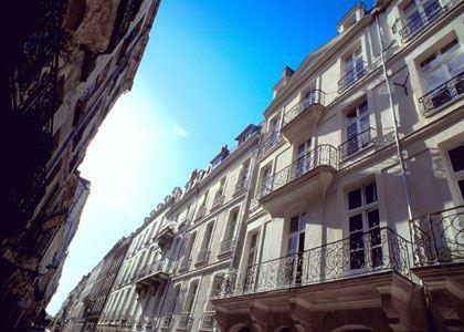 © lvan, île Feydeau à Nantes, des balcons de la rue Kervégan