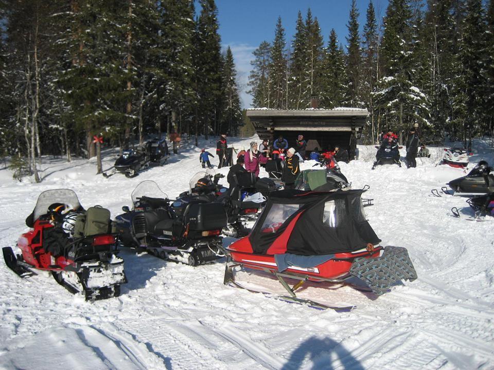 Görgen Olovsson,  © Bjurholms kommun, Snowmobile trails in Bjurholm