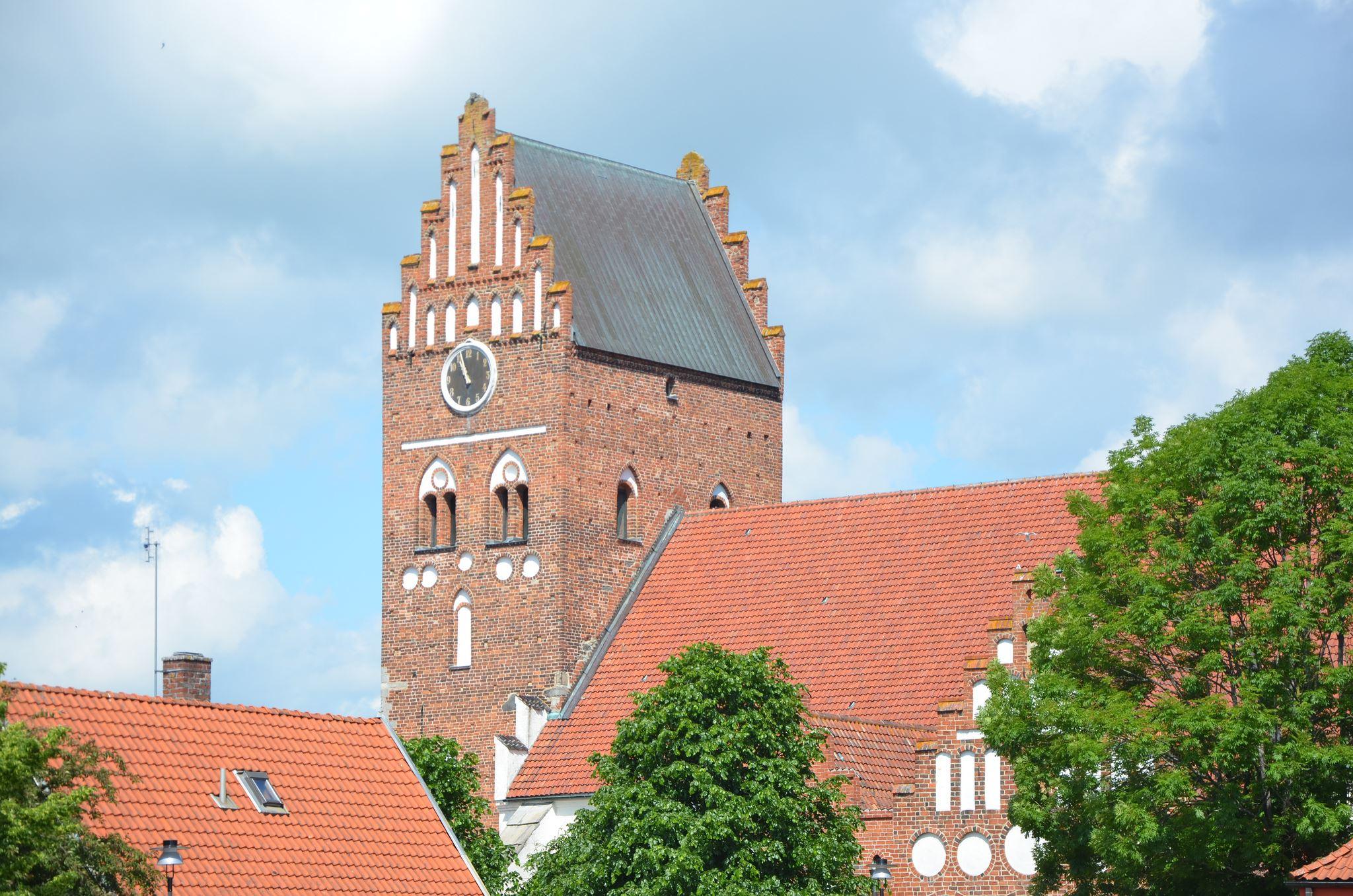 Foto: Kristianstads kommun/Cecilia Sandén, S:ta Maria kyrka i Åhus