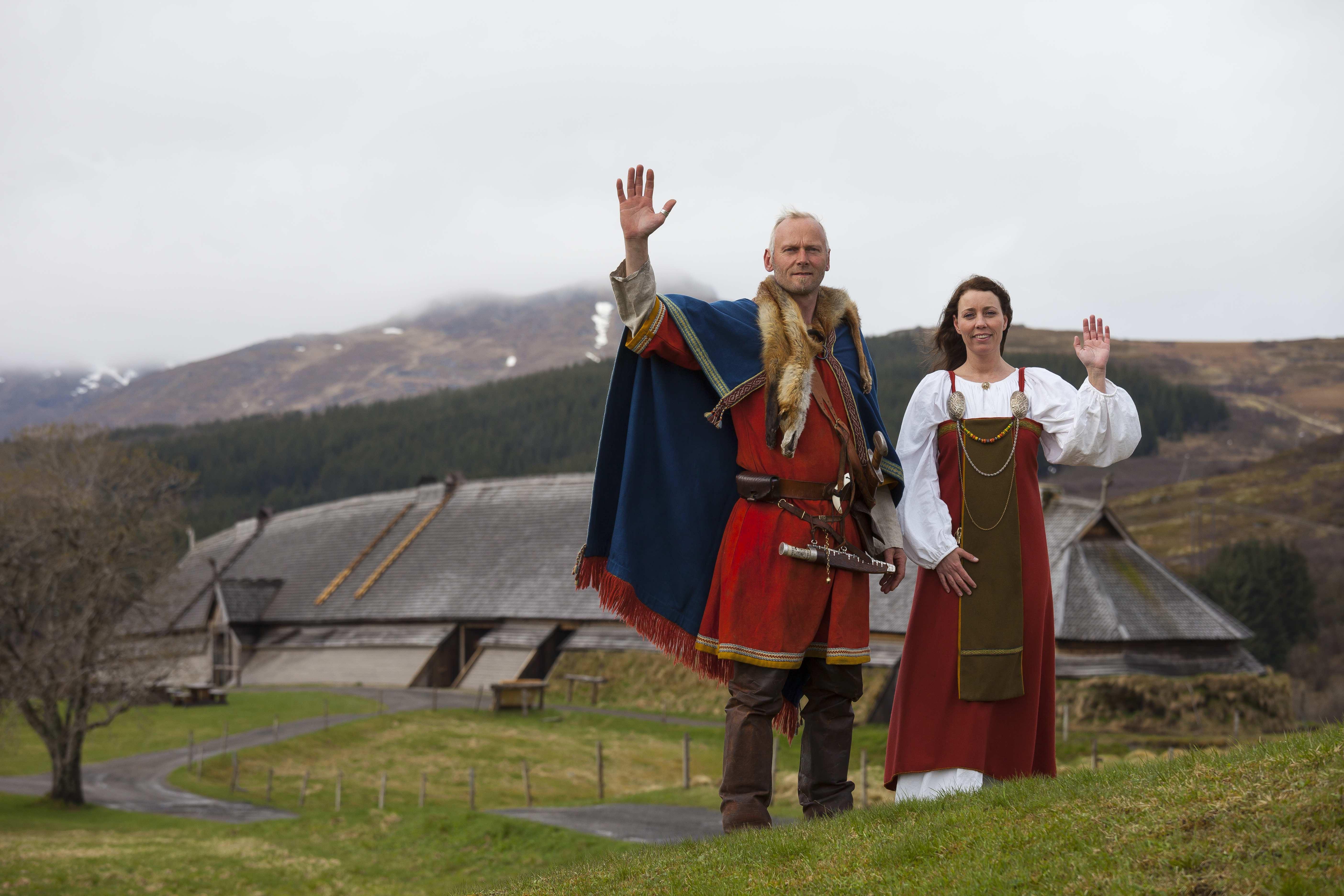 Inngang Lofotr Vikingmuseum