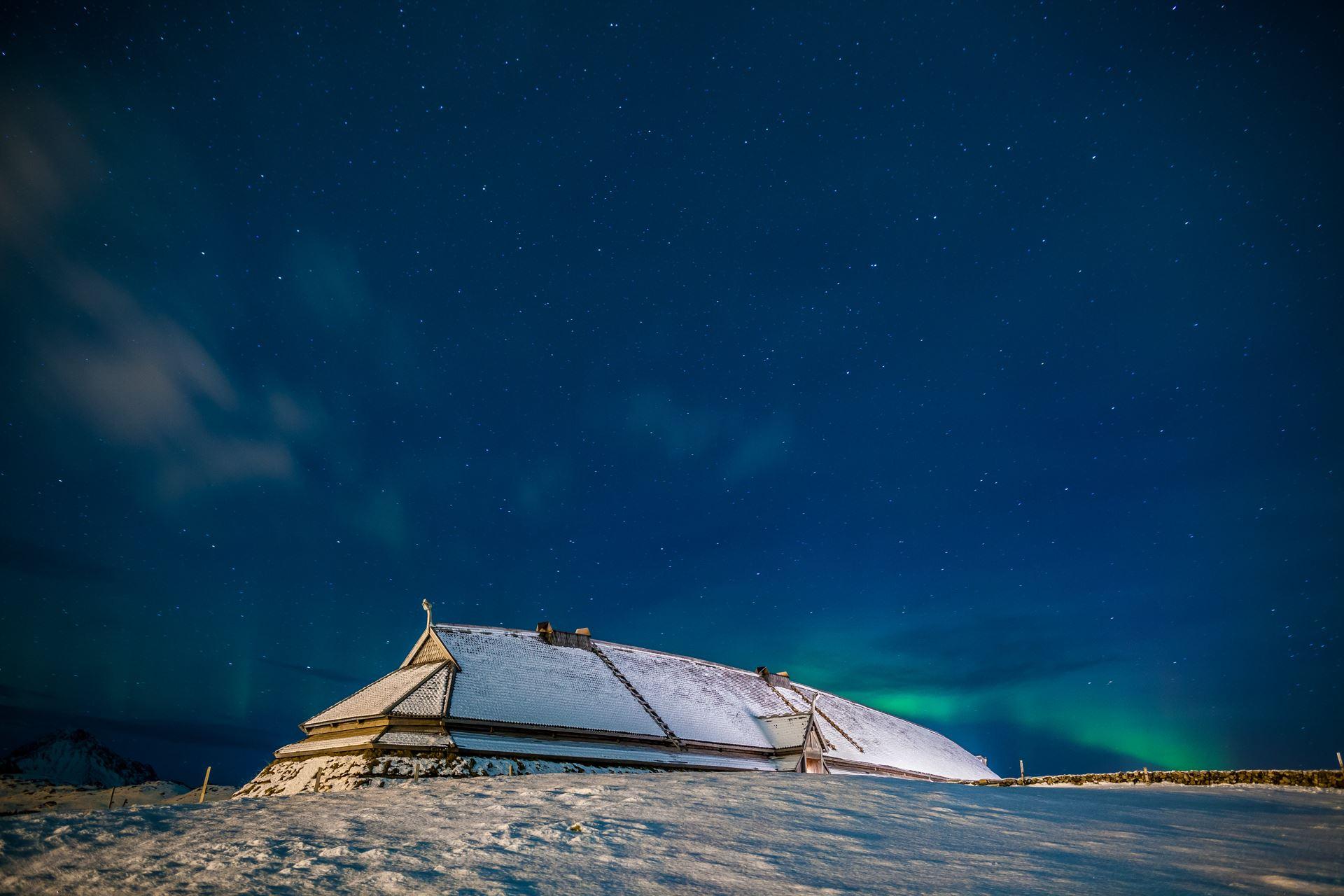 Eintritt Lofotr Vikingmuseum