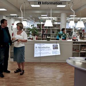 Bibliotek - Ludvika