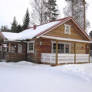 Vasaloppet. Privat stuga M524A, Svensvägen, Mora