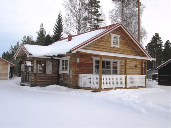 Vasaloppt. Private house M524A, Svensvägen, Mora