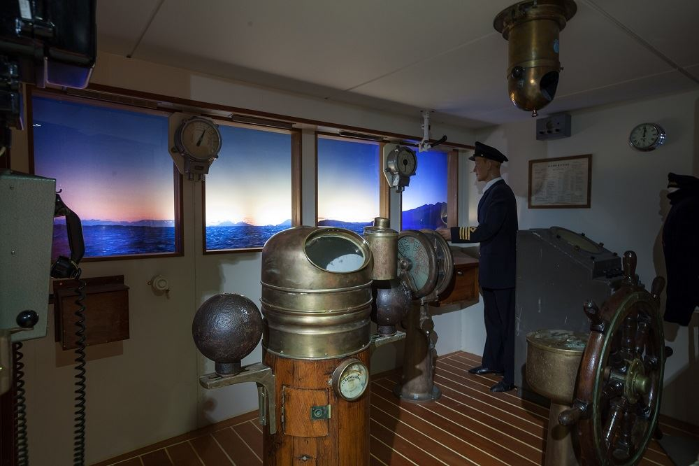 Hurtigrutemuseet _ Kjell Ove Storvik, The Coastal Express Museum - Museum Nord