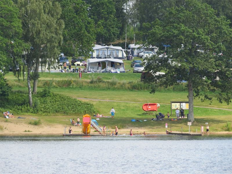 Osby Camping, badplats