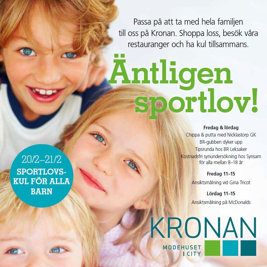 Sportlovskul på Kronan