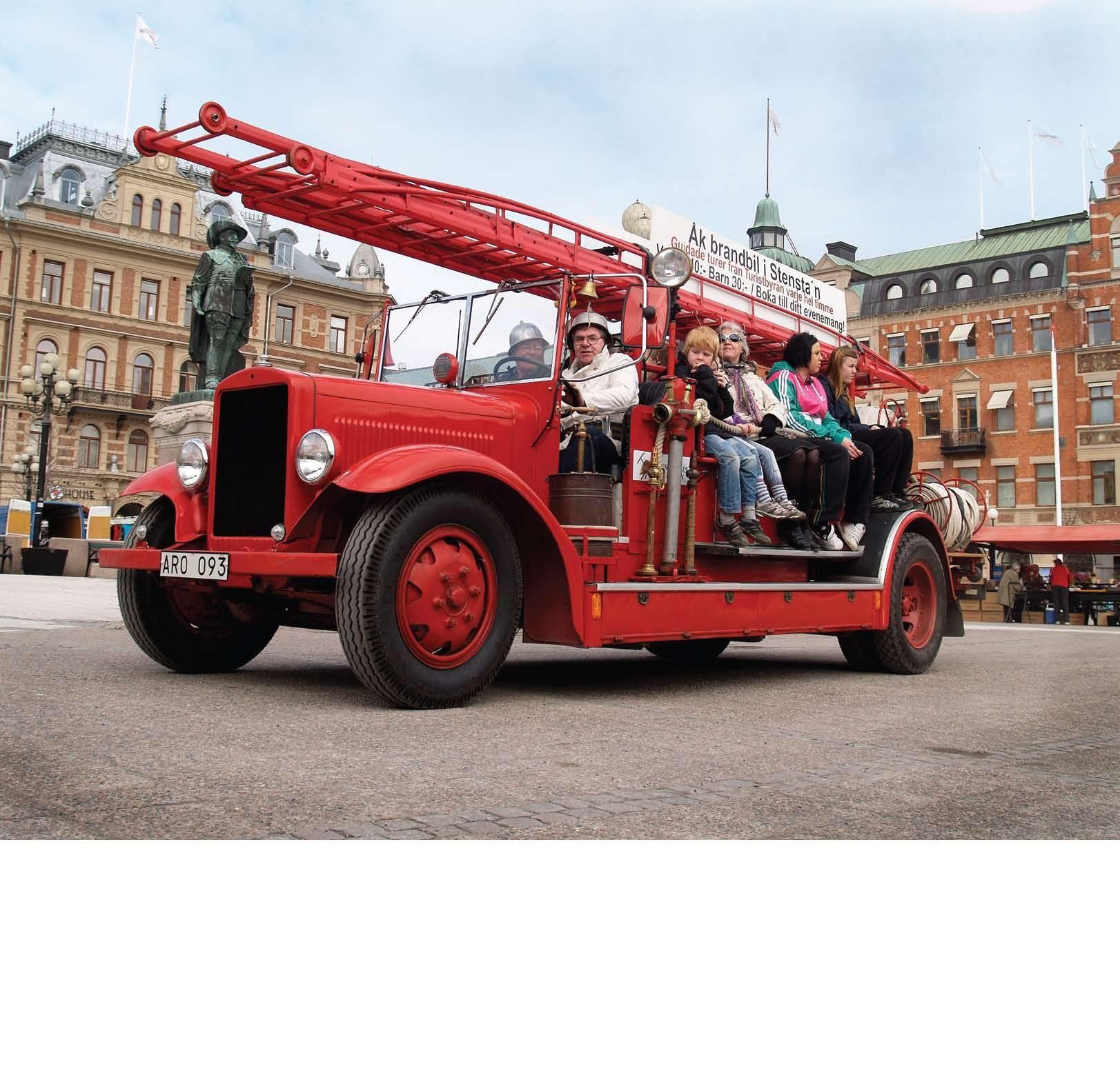 Geführte Feuerwehrauto Tour