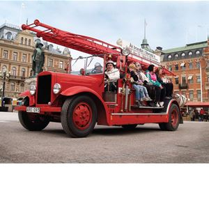 Guided Firetruck tour