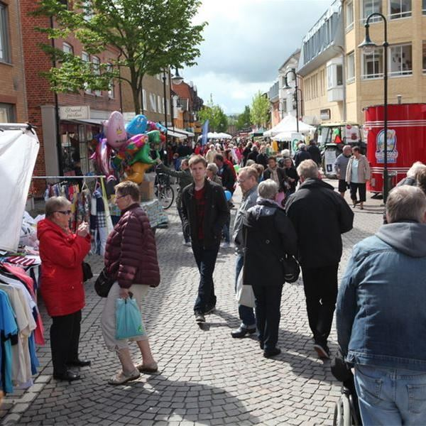 Vårmarknad i Kävlinge centrum