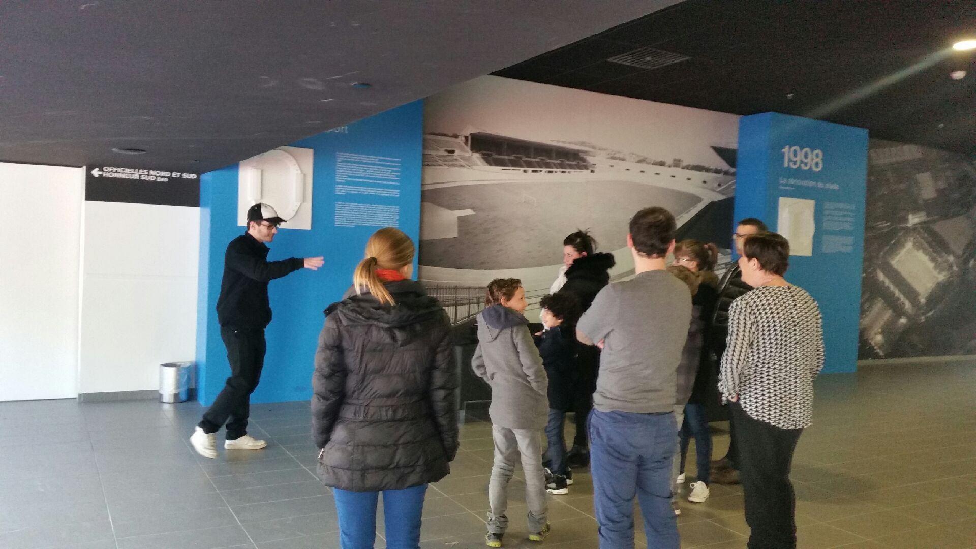 Visite Orange Vélodrome - Parcours Classico