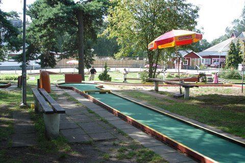 Miniature golf, Granhyddan's camp site