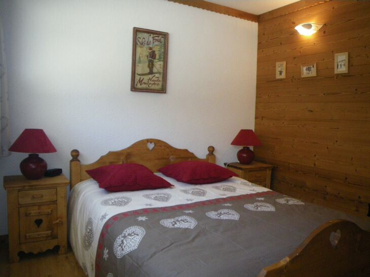 3 Rooms + cabine 8 Pers ski-in ski-out / CHALLE 633
