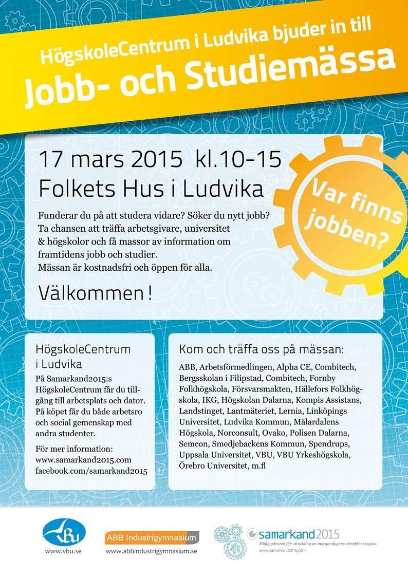 Jobb- och Studiemässa i Ludvika