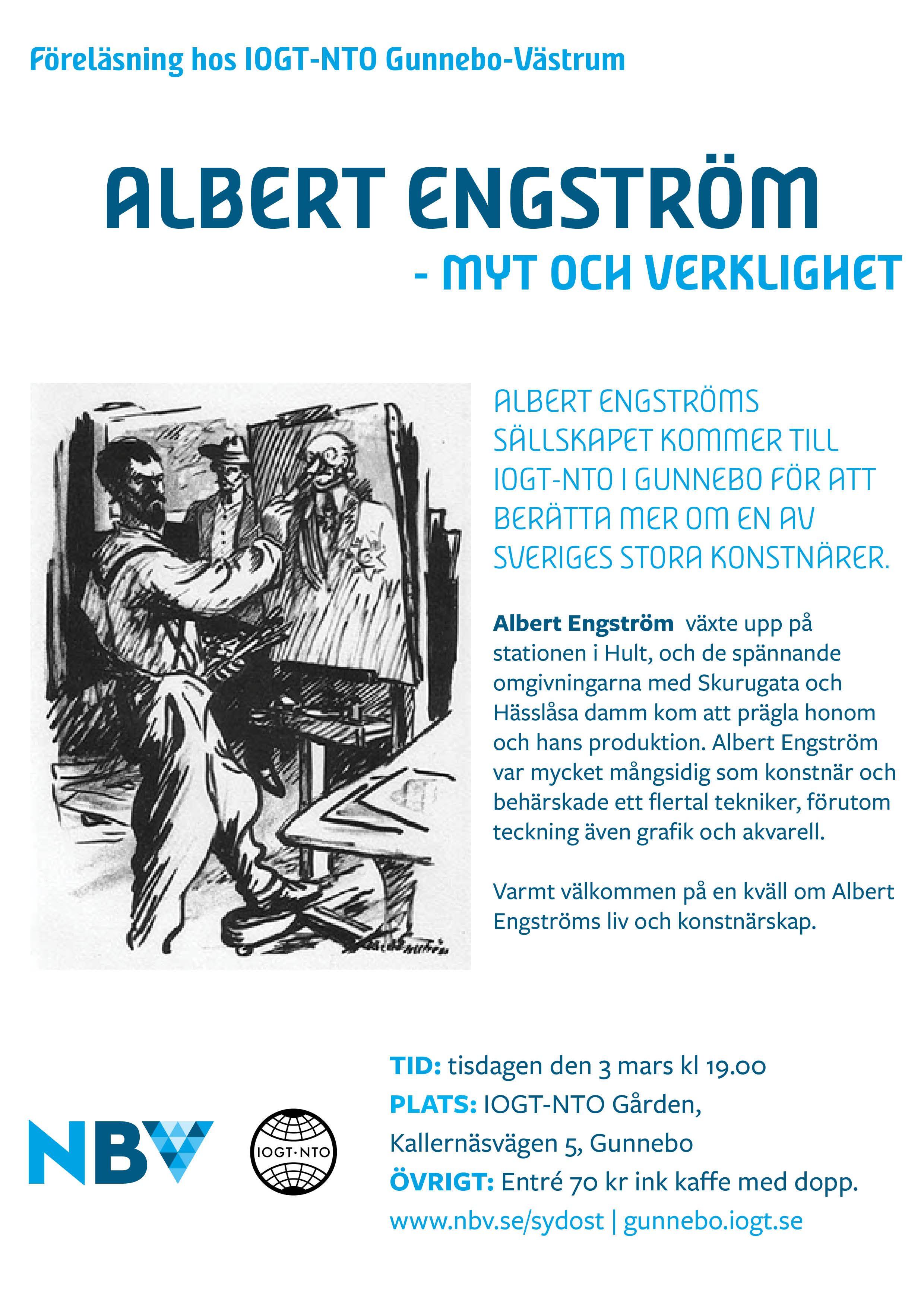 Albert Engström - Myt och verklighet