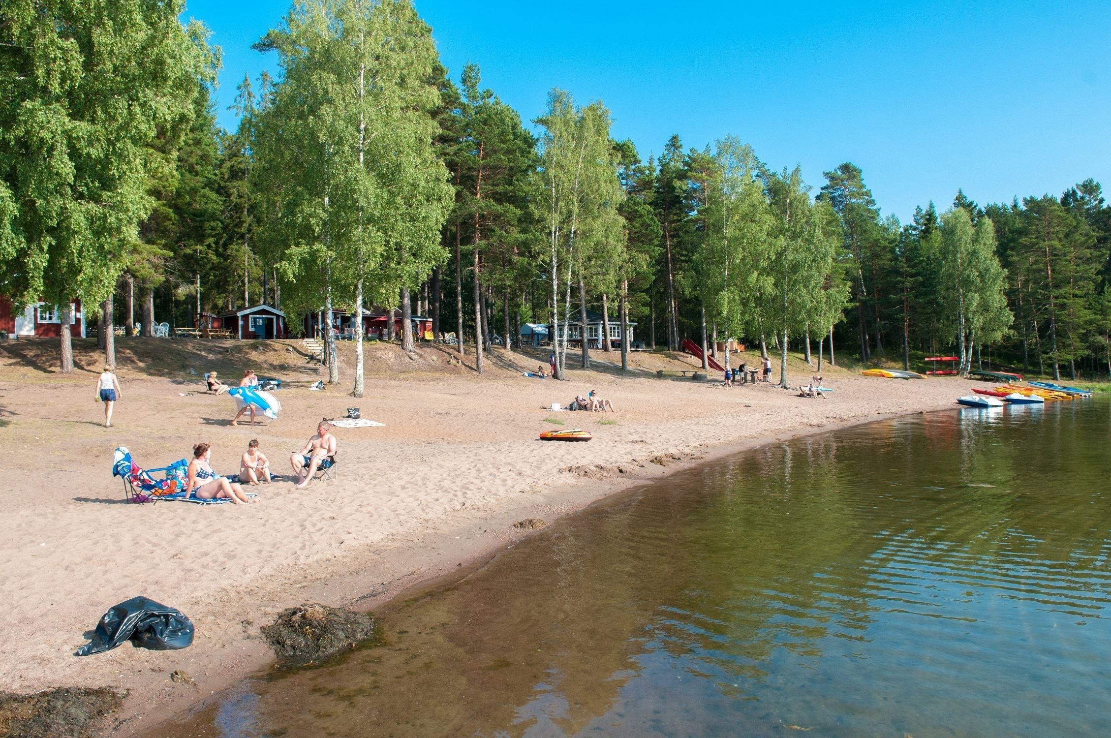 Sandkornets servering, Hasselö Sand