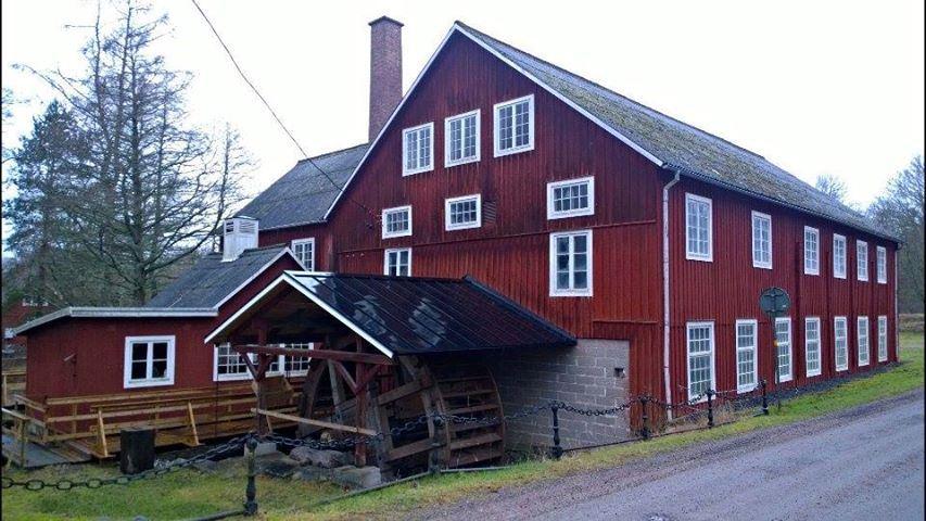 Strömsborg ullspinneri - wool spinning