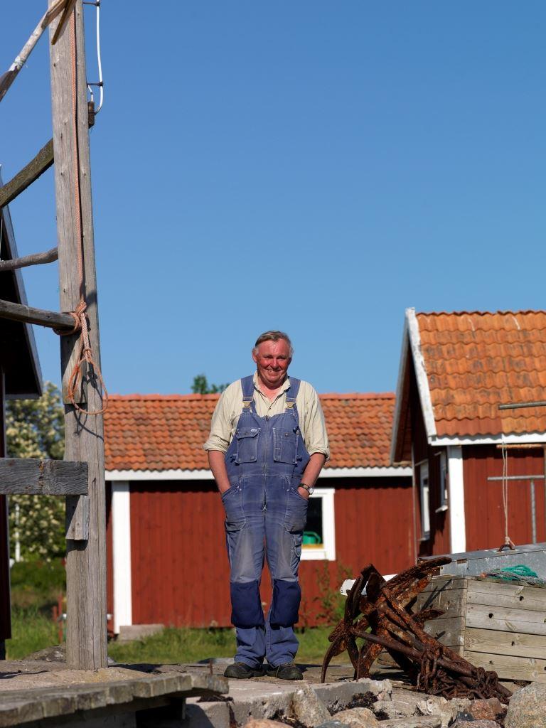 Guidad rundtur med fiskare Tomas Liew på Hasselö och Sladö