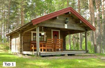 Stugor vid Medskogssjöns Camping