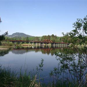 Ställplatser vid Vikbron