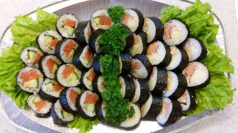 Fiskbutiken,  © Fiskbutiken, Sushi-fat på Hälsingevis