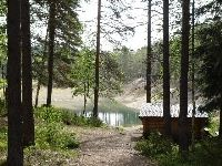 Hiking in the area of Gröntjärn