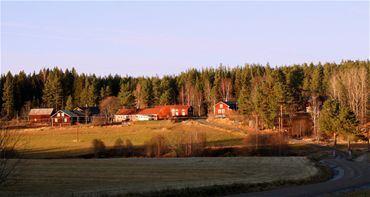 Hälsingegård i Bäckmora