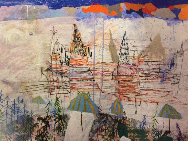 Lars Palm målningar och grafik