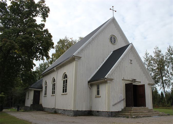 Saint Staffan's Church/vicarage in Gruvberget