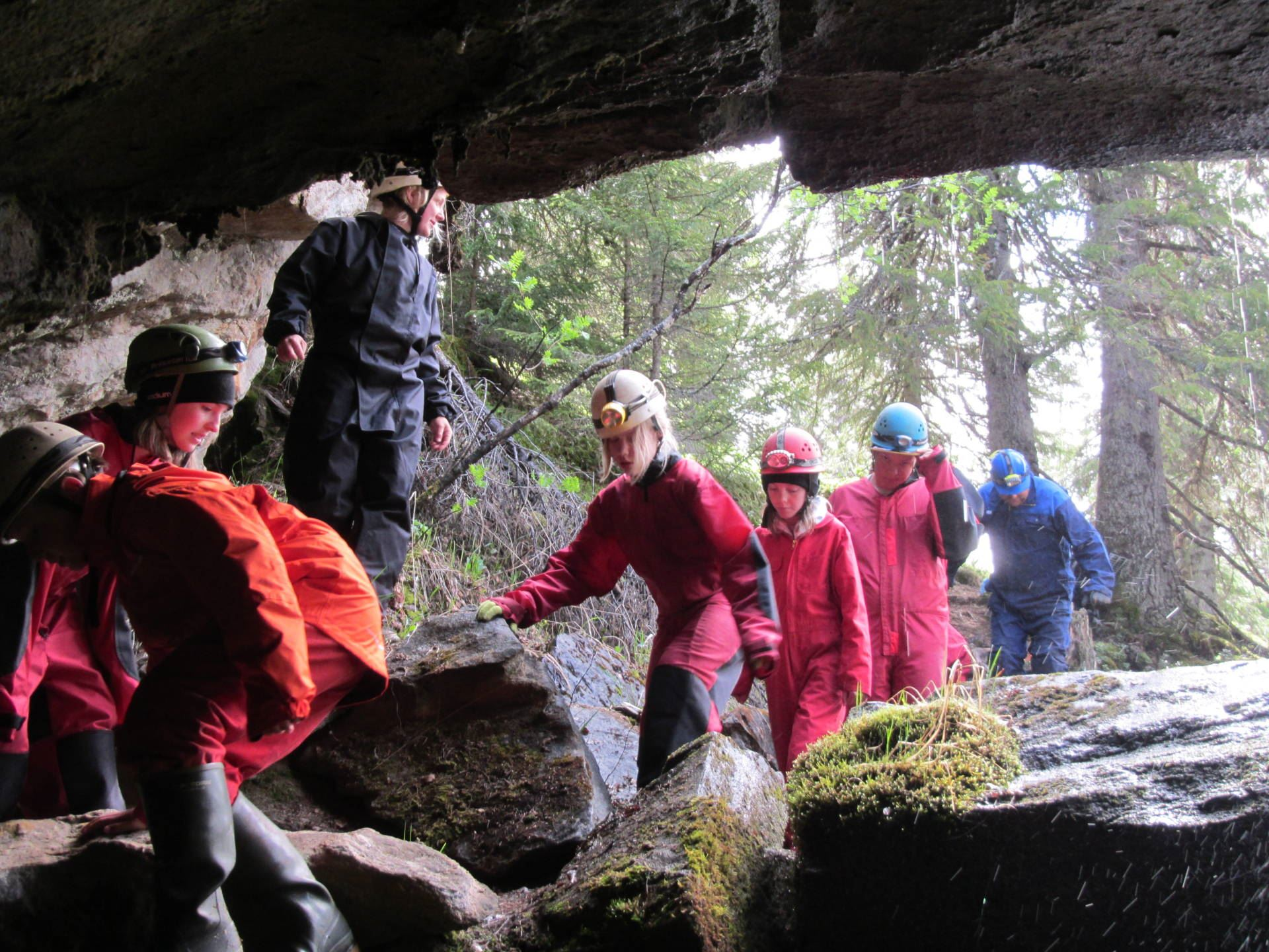 Grotturer i Årefjällen