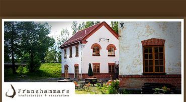 Franshammars Kraftstation & Vandrarhem, Hassela,  © Franshammars Kraftstation & Vandrarhem, Hassela, Franshammars old picturesque power station and hostel
