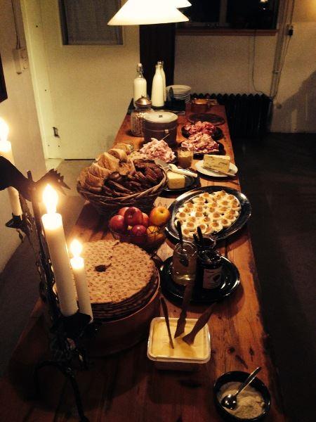 Bondfrukost på Wålstedts