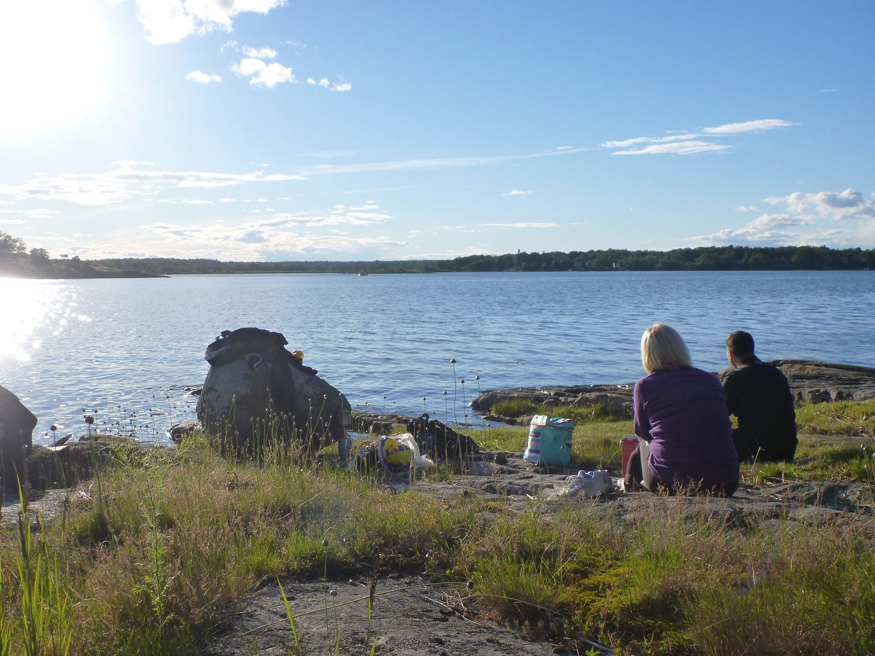 Kajakpaddling i Karlskrona City