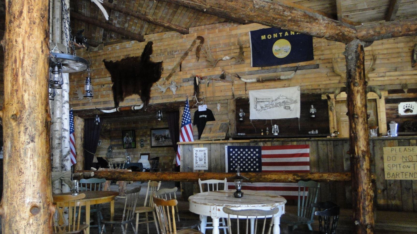 Saloon på Fort Kodiak
