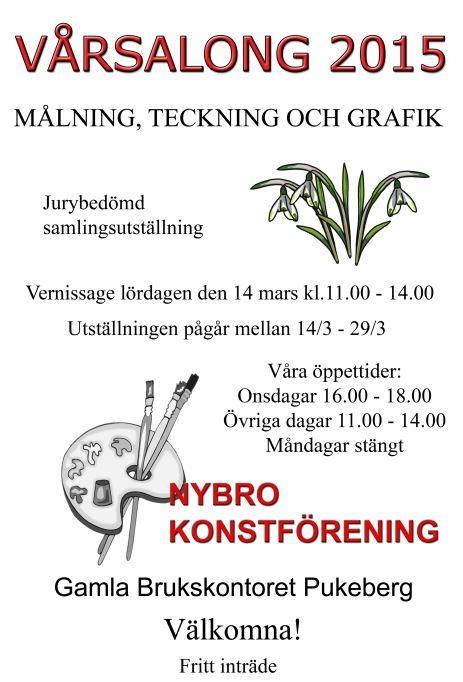 Nybro konstförenings Vårsalong
