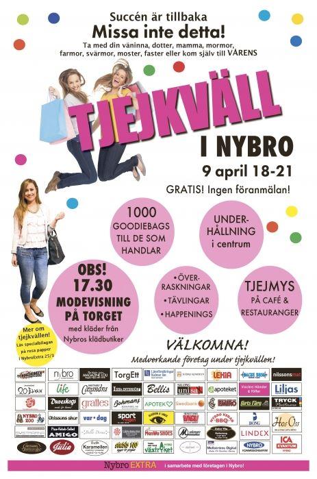 Tjejkväll i Nybro