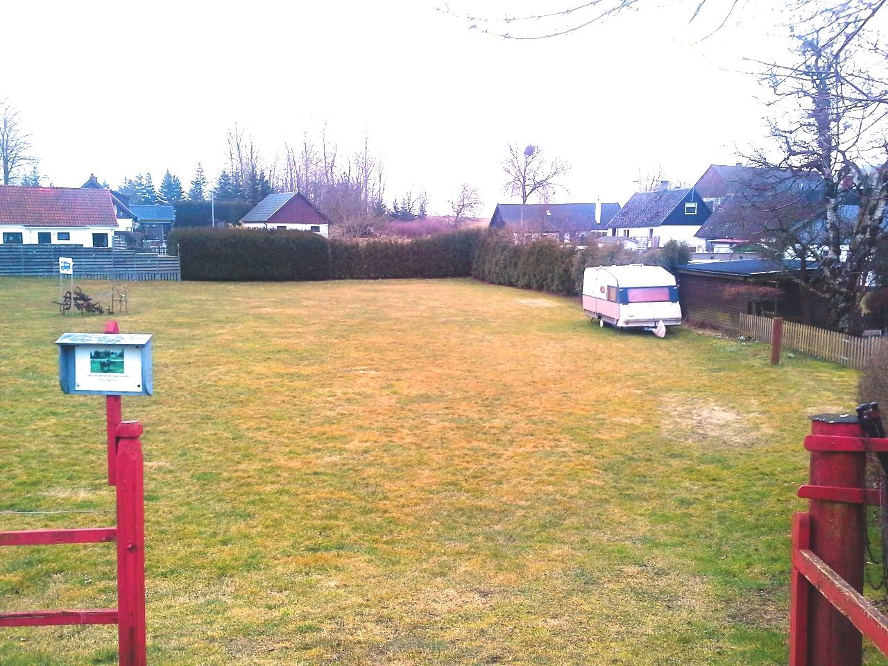 Sörby, parkering och ställplats för husbil/husvagn