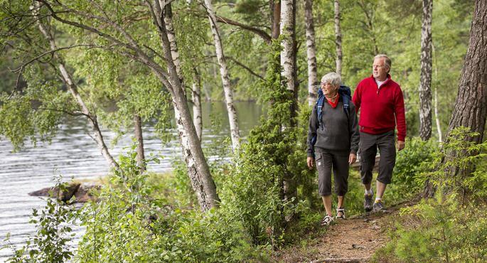 Vandringensdag i Småland, Mytomspunnet och strapatsrikt- Bielkeleden (5,5km )