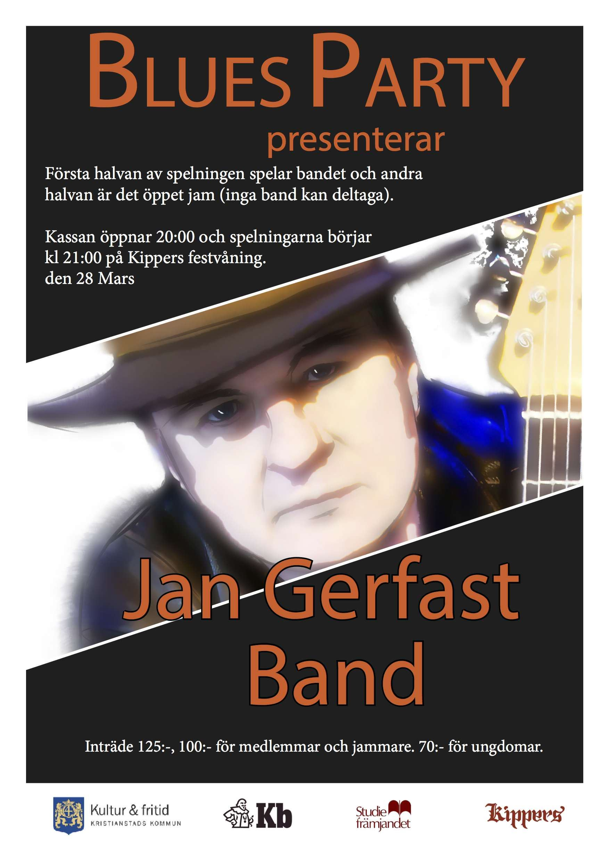 BluesParty spelning och Jam