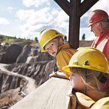 Jeanette Hägglund,  © Falu Gruva, Falun Mine / World Heritage Site
