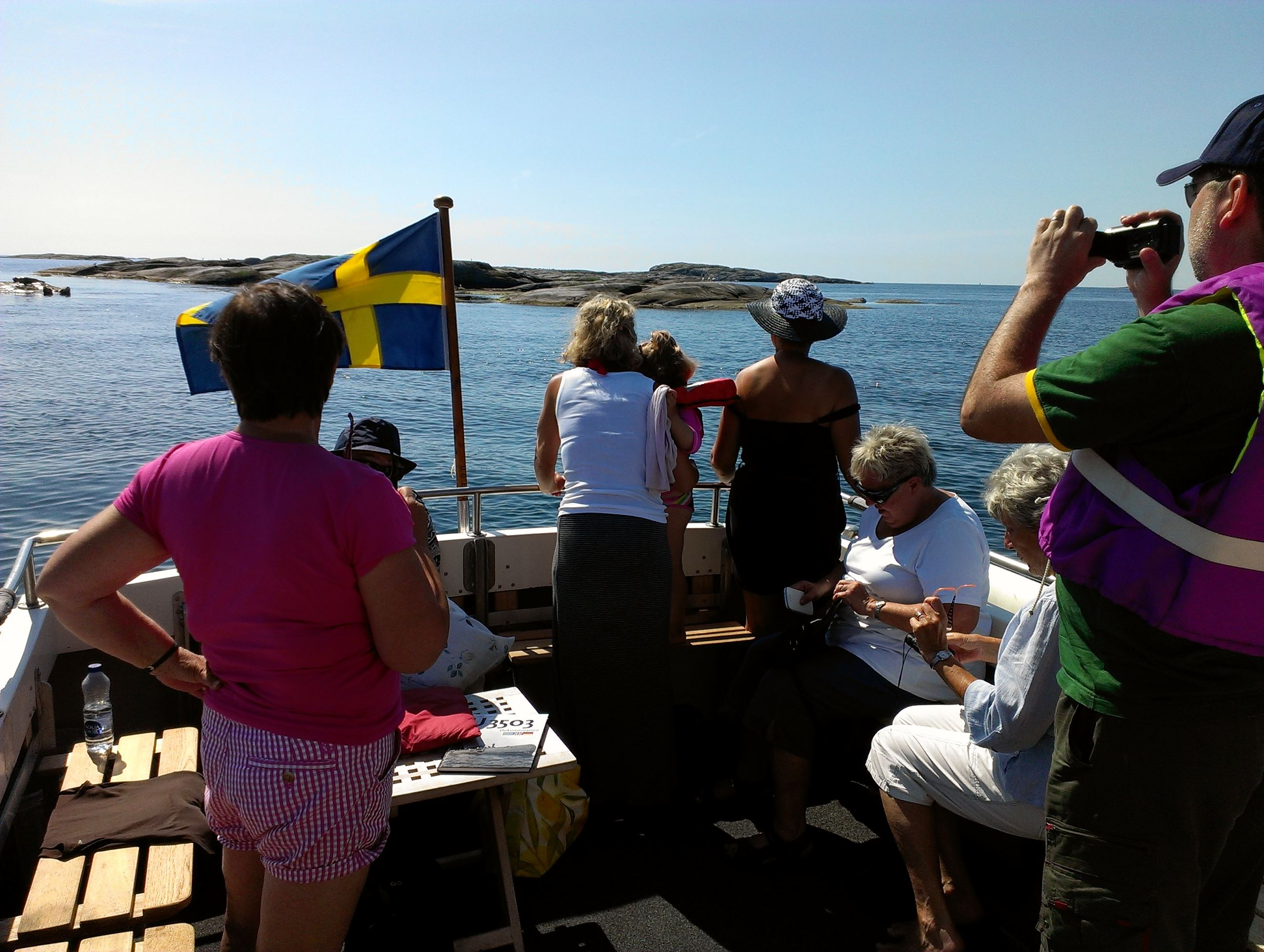 Guided archipelago tour with seal safari and one visit at the island of Vinga
