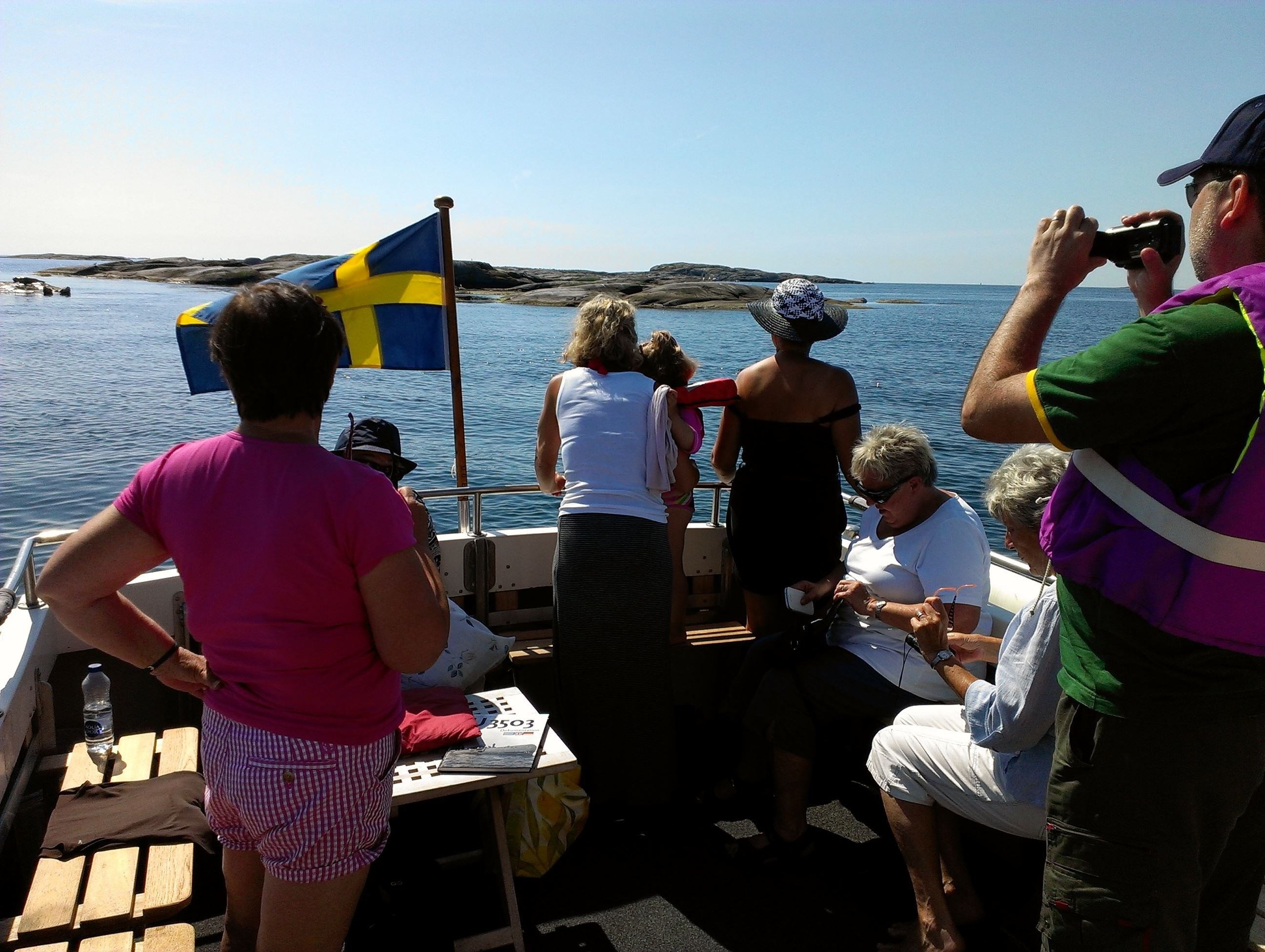 Guided tour in the archipelago