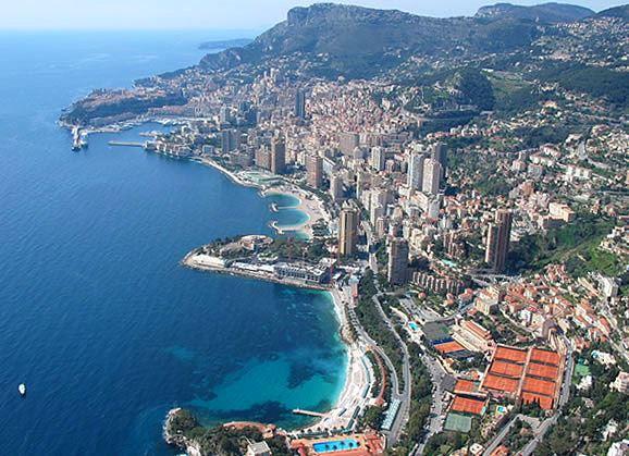 Monaco, Cannes et la Riviera