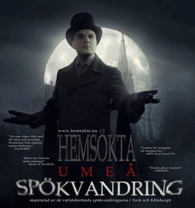 Spökvandringar med Hemsökta Umeå