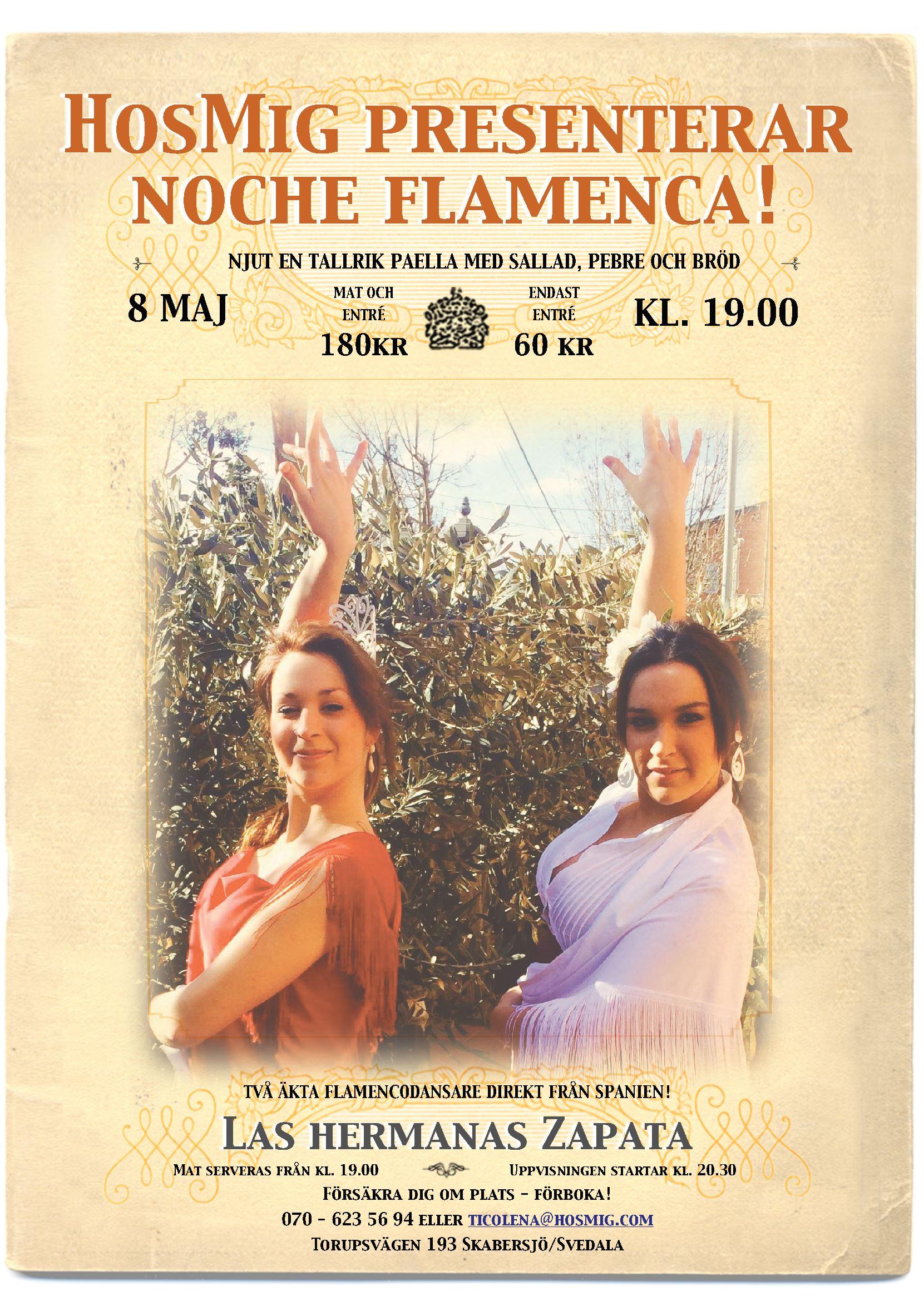 Noche Flamenca – Las hermanas Zapata