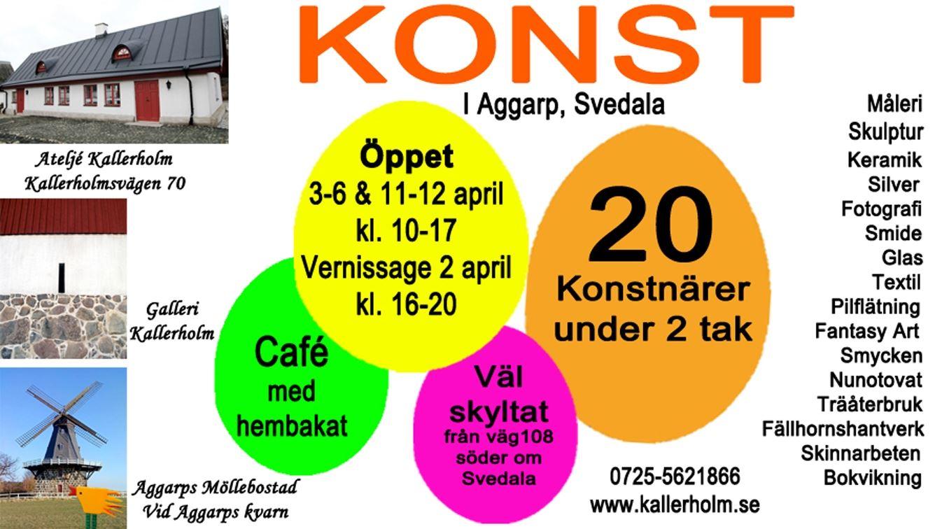 Påskutställning – Multikultur i Aggarp, Svedala